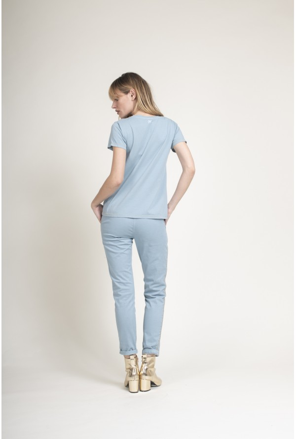 CHINO DÉTAIL LUREX FEMME PAKO LITTO