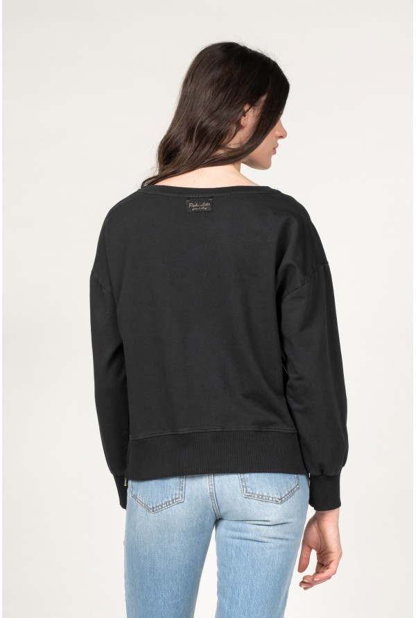 SWEATSHIRT ZIP PRINTEMPS ETE 2021